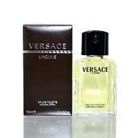 Versace L'Homme Versace Edt Spray Unboxed 3.3 Oz Mens