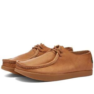 Yogi Willard Heritage Collection Tumbled Leather Shoes Size UK 10