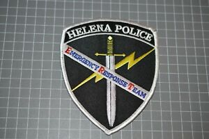 Helena Montana Police Emergency Response Team Patch (B17-9)