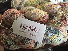 Knitpicks Hawthorne Fingering Weight Sock Yarn, 1 Skein - Confetti Speckle