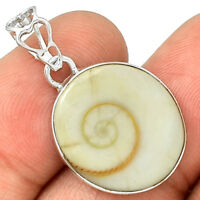 Shiva Eye 925 Sterling Silver Pendant Jewelry PP208347