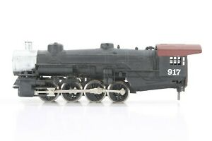 Tyco? 0-8-0 Steam Locomotive: Operates, Light works, parts missing, no tender