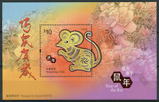 Hong Kong Year of Rat Stamps 2020 MNH Chinese Lunar New Year 1v M/S