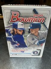 2020 Bowman Baseball Factory Sealed Retail Blaster Box
