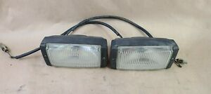 1986-1991 OEM Volvo 780 740 720 Turbo BOSCH Fog Light Lamp Left & Right