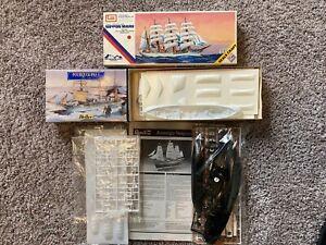 1/350 Revell Amerigo Vespucci - Imai Nippon Maru and extra