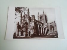 Old Real Photo Postcard - HEREFORD CATHEDRAL  Franked+Stamped 1936       §A1213