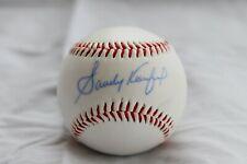 Autographed Sandy Koufax Baseball