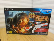 Cabela's Dangerous Hunts 2011 With Top Shot Elite for PS3 New & Sealed