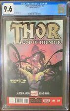 CGC 9.6 THOR:GOD OF THUNDER #8