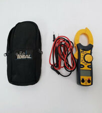 Ideal 61-744 AC/ NCV 600A Digital Clamp Meter W/ Test Leads 11/B7343B