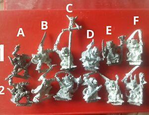 12x Skaven Chaos ratmen marauder via citadel gw gutter runners & plague monks