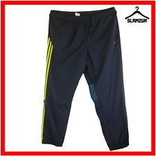 Adidas Mens Tracksuit Bottom Jogger 3XL Navy Blue Sweatpants Gym Training Cuffed