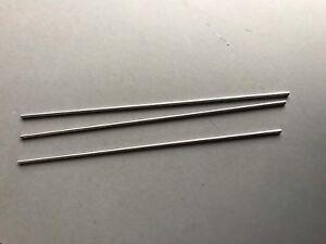 4MM DIAMETER  STEEL, 300MM LONG, PRECISION GROUND (PACK OF 3)