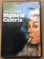 Nights of Cabiria (DVD, 1999, Criterion Collection) In Italian/English Subtitles