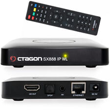 Octagon SX888 Mini IPTV Box mit Stalker m3u Playlist VOD Xtream WebTV HDMI WLAN