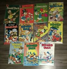 Walt Disney's Donald Duck  - 13 Book Lot (Gold Key, Gladstone, Dell)
