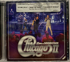 Chicago II Live on Soundstage CD + DVD - NEW