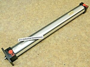 """Numatics    2""""  bore   X   22""""  stroke   pneumatic cylinder  F1AL-22A3D-AAA2"""