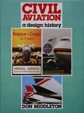 CIVIL AVIATION A DESIGN HISTORY, MIDDLETON, NEW 1986 IAN ALLAN HARDBOUND BOOK