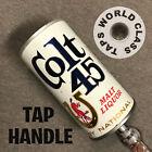 vintage COLT 45 MALT LIQUOR CAN beer TAP HANDLE marker tapper PULL KEG STEEL