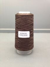 100G CONE FINE SILK YARN BROWN ULM/4260