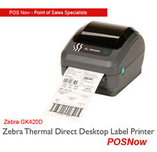 *NEW* Zebra GK420D Thermal Direct Desktop Label Printer  (USB + Serial)