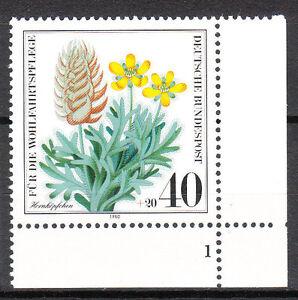 BRD 1980 Mi. Nr. 1059 Postfrisch Eckrand 4 Formnummer 1 TOP!!! (9789)