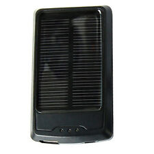 HQRP Slim Solar Charger Micro USB Universal Mobile Power Bank Battery Charger