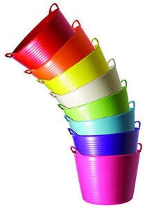 DAS ORIGINAL! Red Gorilla Tubtrugs Flexible Größe S (14 l) - 8 Farben BPA-frei