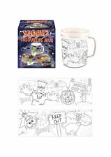 Halloween Colouring Mug - Trick Or Treat Loot/Party Bag Craft Childrens/Kids