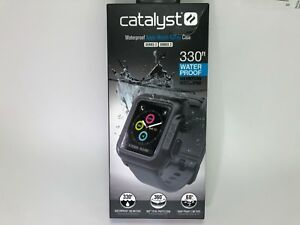 Catalyst Waterproof Apple Watch 42mm Case for Series 3 & 2 (Gray/Black)