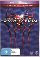 The Amazing Spider-Man/Amazing Spider-Man 2 (DVD,2014,2-Disc)Excellent Condition