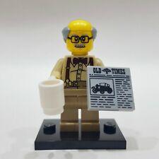 """LEGO Collectible Minifigure #71001 Series 10 """"GRANDPA"""" (Complete)"""