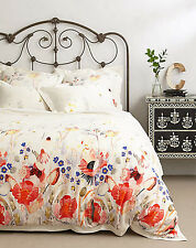 Anthropologie Garden Buzz Queen Duvet Cover