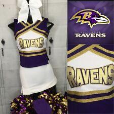 Cheerleading Uniform Baltimore Ravens Youth Large