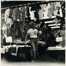 Photo Humaniste Argentique CommerceVieux Nice Juin 1976