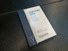 VOYETRA SIDEMAN D50 SOFTWARE EDITOR FOR ROLAND D-50/550 FOR IBM/PC/XT/AT NOS