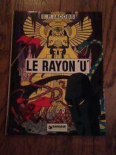 le rayon U (1974) E P Jacobs BD ancienne TBE