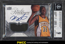 2007 Exquisite Collection Kevin Durant ROOKIE RC AUTO PATCH /99 #94 BGS 9 (PWCC)
