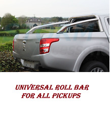 Pickup Pick-up Universale in Acciaio Inox Sport Accessori ROLL BAR D40 M251 Ni