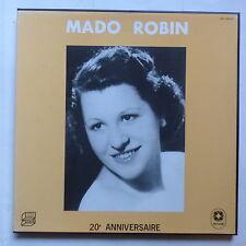 Coffret MADO ROBIN 20eme anniversaire  Discoreals INA  archives DR 10001/3