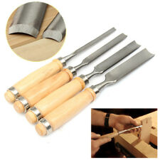 4Pcs DIY  Home Carving Set Wood gouge Chisel Woodworking Tool Tools Handle Hand