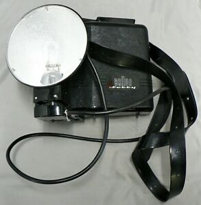 BRAUN HOBBY FLASH CAMERA WITH EXTRA FLASH ATTACHMENT