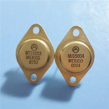 5pairs OR 10PCS Transistor MOTOROLA TO-3 MJ15003/MJ15004 100% Genuine Original