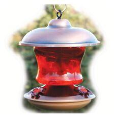 Woodlink Brushed Copper Hummingbird Feeder New Open Box