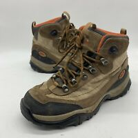 LL Bean Size 7.5 women's waterproof hiking boots Brown Suede