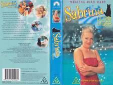 SABRINA DOWN UNDER MELISSA JOAN HART  A RARE FIND  VIDEOS  PAL VHS