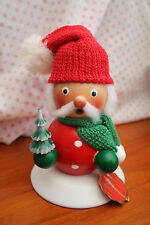 Steinbach German Folk Art Christmas SANTA SMOKER 28cm S931 -New But Squashed Box