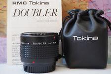 Tokina Doubler 2x Tele-Converter for Pentax K PK EXCELLENT